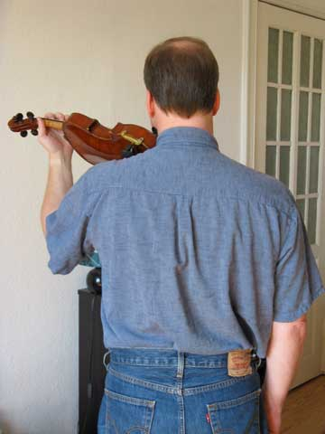 Geigenhaltung